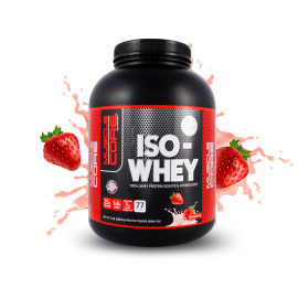 Muscle Core™ ISO-WHEY Strawberry, 77 Servings