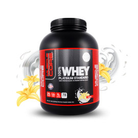 Muscle Core™ 100% Whey Platinum Standard Vanilla, 78 Servings
