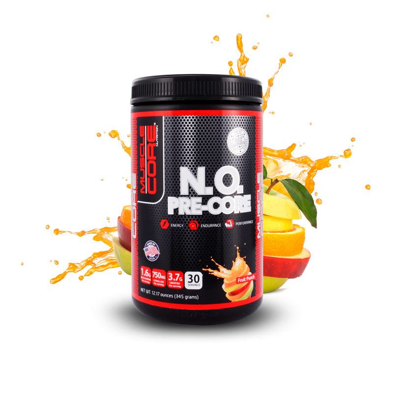 Muscle Core™ N.O. PRE-CORE  Fruit Punch 30 Servings