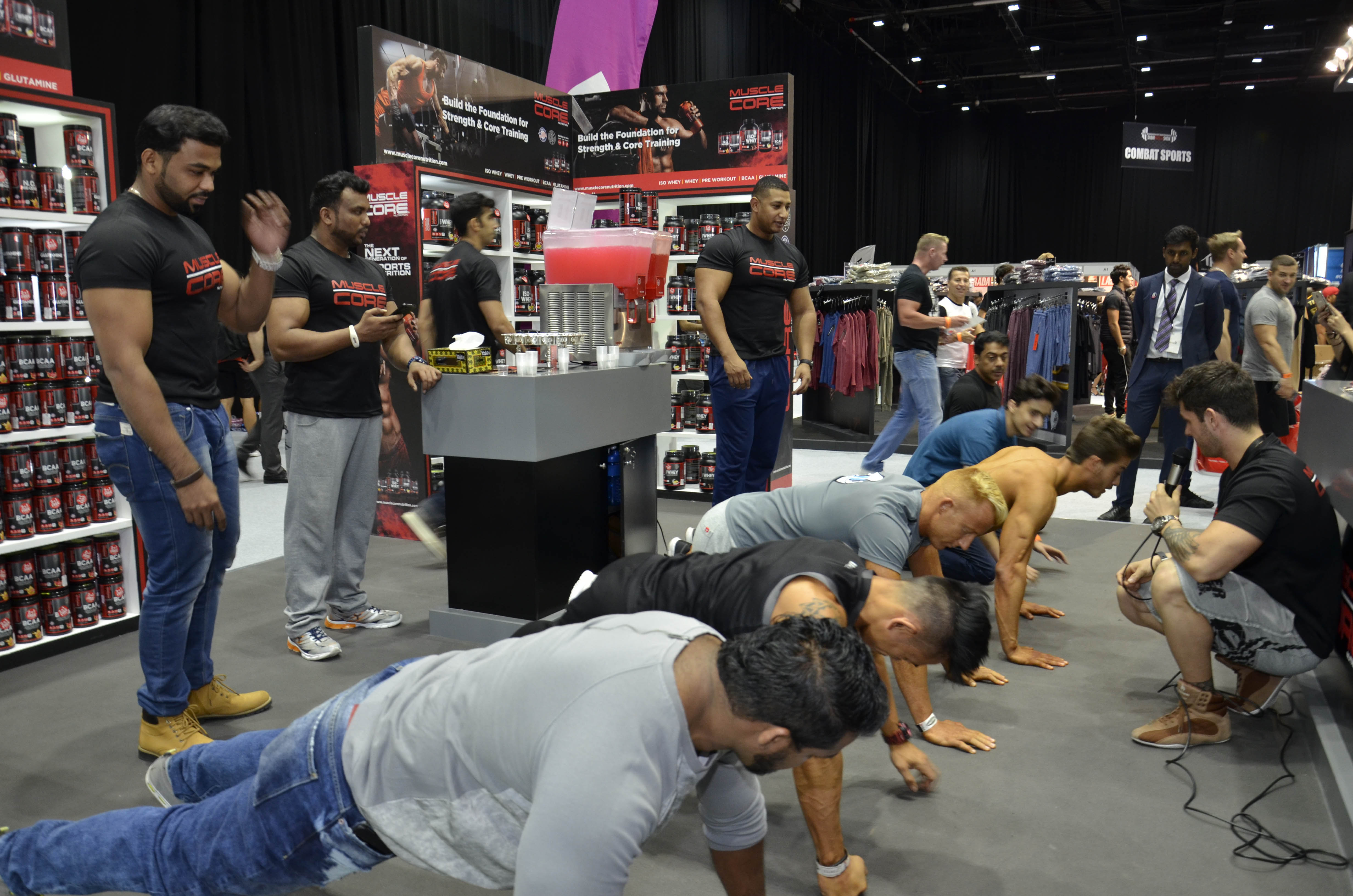 Muscle Core Push Up Challenge
